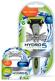Wilkinson Sword Hydro 5 Sensitive Razors & Blades