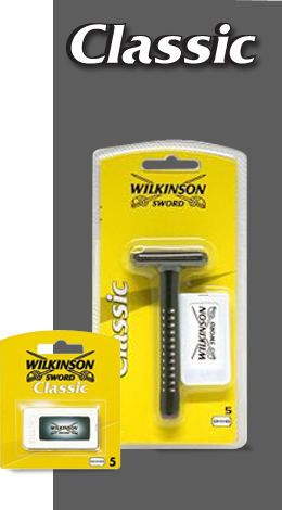 Classic Razor With Blades Wilkinson Sword Uk For Men
