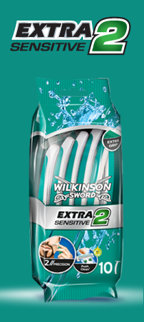 Wilkinson Sword Extra 2 Sensitive disposable razor