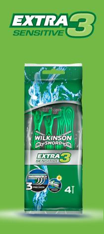 Wilkinson Sword Extra 3 Sensitive disposable razor