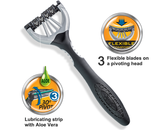 Wilkinson Sword Extra 3 Sensitive disposable razor