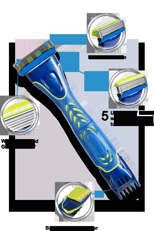 Wilkinson Sword Hydro 5 razor with blades