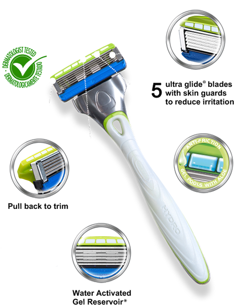 Wilkinson Sword Hydro 5  Sensitive razor with blades