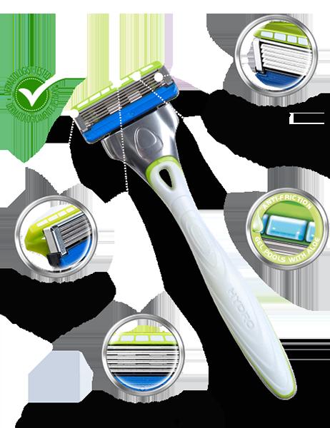 Wilkinson Sword Hydro 5  Sensitive razor with blades