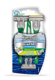 Wilkinson Sword Quattro Titanium Sensitive Disposables