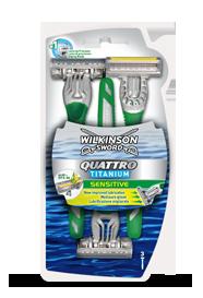 Wilkinson Sword Quattro Titanium Sensitive Disposables
