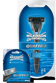 Wilkinson Sword Quattro Razors & Blades