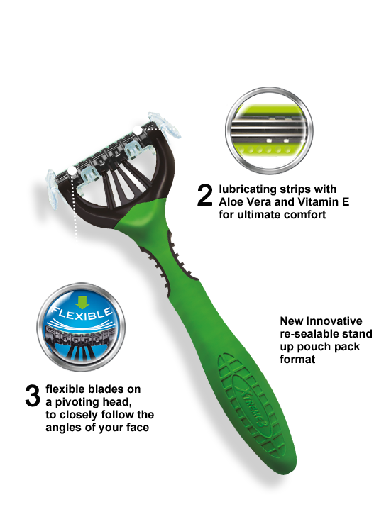 Wilkinson Sword Xtreme3 Duo Comfort disposable razor