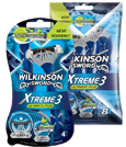 Wilkinson Sword Xtreme 3 Ultimate plus disposable razor