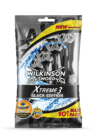 Wilkinson Sword Xtreme 3 Black Edition Disposables
