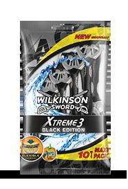 Wilkinson Sword Xtreme 3 Black Edition Disposables