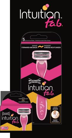 Wilkinson Sword Intuition razor with blades