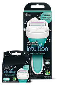 Wilkinson Sword Intuition Sensitive Razors & Blades