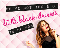 Win a lipsy little black dress