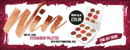 Win with Wilkinson Sword Eyeshadow Palette Promotion