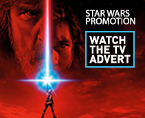 Watch our new StarWars TV Ad