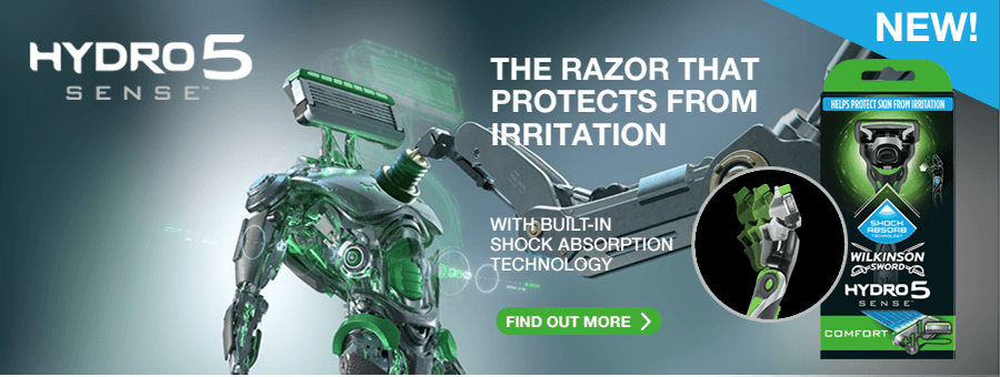 Wilkinson Sword Hydro5 Sense Energize Razor