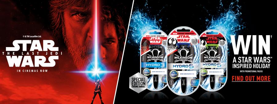 Wilkinson Sword Star Wars Promotion